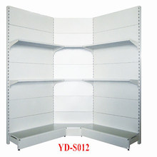 Supermarkt Single Outward Metal Corner Shelf