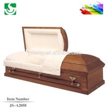 Hot sale American qualified carved casket manufacturer