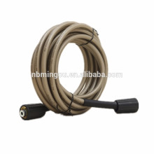 With connectors PVC or Rubber High Pressure Washer Hose