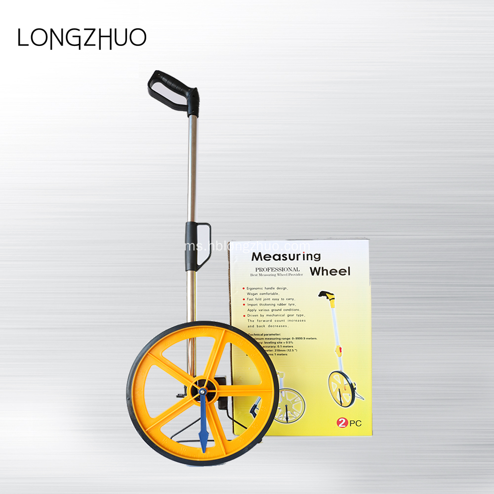 Roda Big Walk Walking Distance Wheels Measurement