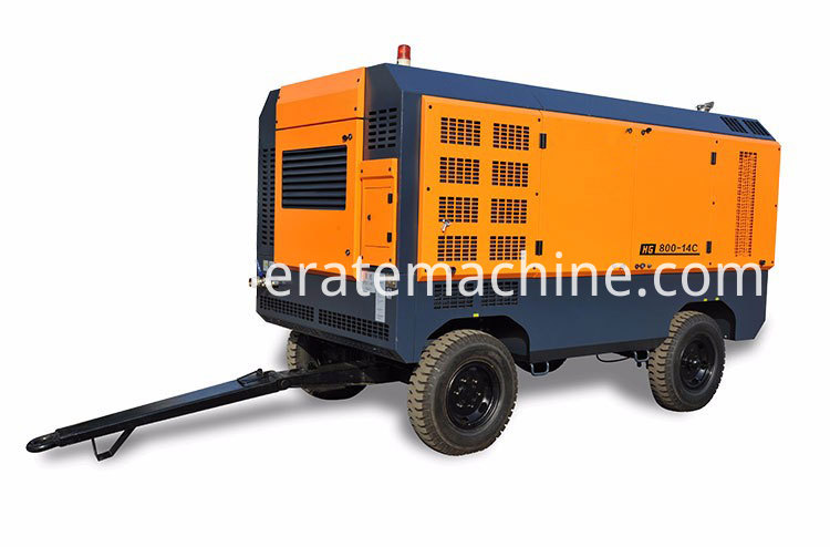Movable Air Compressor