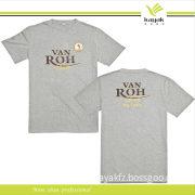 Custom Polyester Man's Knitted T-Shirt (R-10)