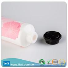 Taiwán fabricante cuidado personal crema de manos octogonal tapón manguera de apriete