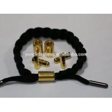 Bracelete de metal gravado personalizado para homens e mulheres