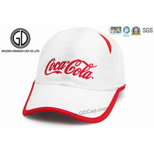Custom Promotional Outdoor Soft Microfiber Fabric Golf Cap Sports Hat