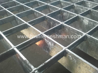 Welded Steel Grating Fence