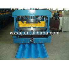 máquina del azulejo de acero color