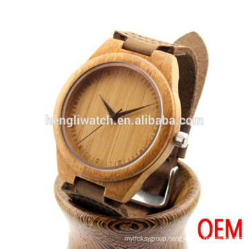 New Ebony Watch and Wooden Watch of Hot Sell, Inexpensive Wood Watch for Men Ja15097