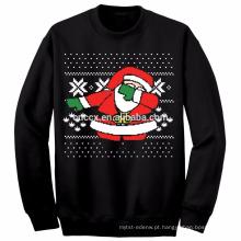 PK18ST057 mais recente design unisex feio natal suéteres