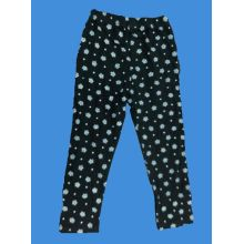 Cotton/Polyester Girl Pants with Flower Printed for Autumn (LP004)