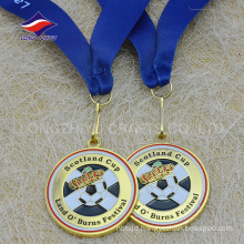 High quality promotional sales nice fashion metal soccer medal