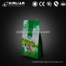 custom made product food plastic packaging for tea