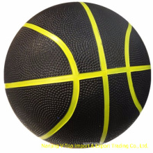 Single Color Natural Rubber Basketball Size 7
