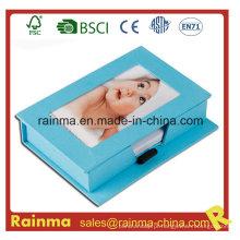 Presente Cardbox Loose Leaf Memo Pad com Photp Frame