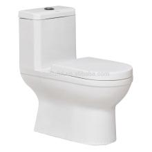 CB-9869 Siphonic One Piece Toilet Americian válvula de descarga de inodoro WC WC portátil de porcelana