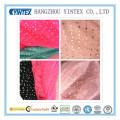 """56 """"tela impresa malla hecha a mano y Kintted 100% suave para el vestido, 40d"""