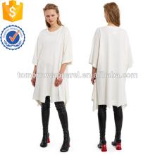 Upside Down Camiseta Vestido Fabricación al por mayor Moda Mujer Ropa (TA4083D)