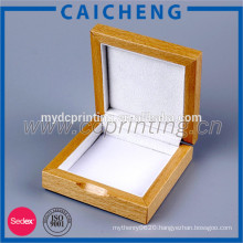 Luxurious Unfinished Wood Jewelry Box