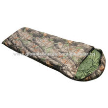 Good-quality Outdoor Camping Envelope Style Sleeping Bag, Customized Sizes are Accepted