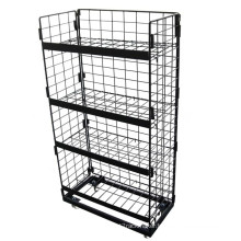Black Store Display Rack (GDS-032)
