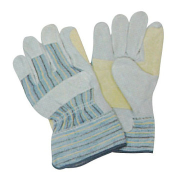 Strengthened Genuine Leather Industrial Work gloves