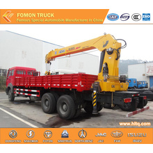 North-Benz 6*4 12tons vehicle mounted lifting crane