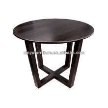 Round wooden restaurant furniture XT7002