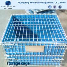 Conteneur de boîte de maille de stockage de cage d'emballage