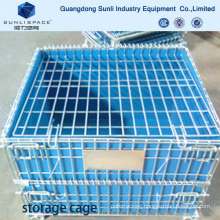 Packaging Storage Cage Wire Mesh Box Container