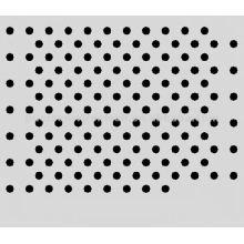 Chapa de acero al carbono baja chapa perforada