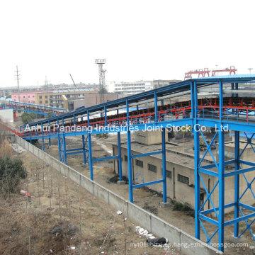 Overland General Fixed Belt Conveyor para manejo de materiales a granel