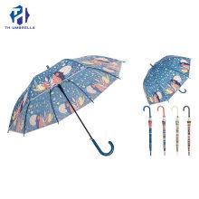 Auto Open Straight Poe Umbrella