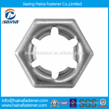 En existencia Proveedor Chino Mejor Precio DIN7967 Tuerca de bloqueo de acero inoxidable pal