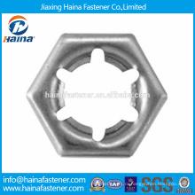 В запасе Китайский производитель Лучшая цена DIN7967 Нержавеющая сталь пальцы контргайки