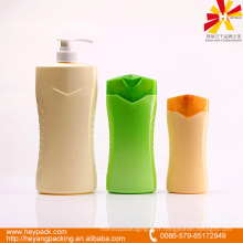 Types de capacité emballage en bouteille de shampooing en plastique