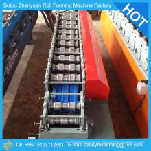Línea de producción automática de puerta de acero, rodillo de listón de puerta anterior, obturador de rollo productor de línea