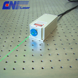 200mw 561nm narrow line width laser for experiment