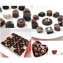 30 Hohlraum Verschiedene geformte Dessert Silikon Schokolade Schale