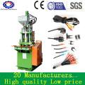 Pequeña máquina de moldeo por inyección de plástico vertical para cable de PVC