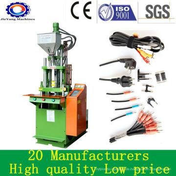 Kleine vertikale Kunststoff-Spritzgießmaschine für PVC-Kabel