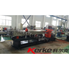 water recycling single screw extruder line for plastic