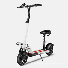 fast fat tire adult patinet electr 500w 48v electric e scooter with seat long range monopattino off road electric mope scooter
