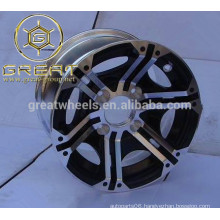 sample accepted 14 inch Alloy Wheels, alloy atv wheels