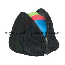 Fashion Black Micro Mesh Bra Wash Bag