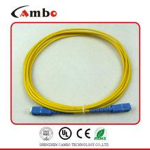 Inserção Perder: <0.2 db Fiber Patch Cord SC SMA em terminação do dispositivo ativo