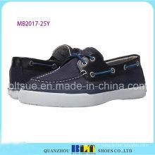 Hommes Business Canvas Chaussures Bateau Supérieur