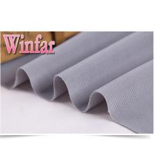 Stock de tissu en tricot de polyester ottoman côtelé