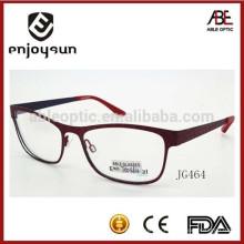 Высококачественные оптические очки для очков с металлическим каркасом