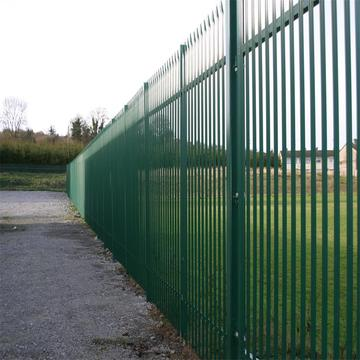 High Quality Galvanized Security Steel Palisade Fence