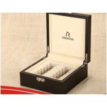 Hochwertige Leder Geschenkbox, Verpackung PU Geschenk Schmuckschatulle